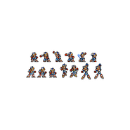 Mega Man X Second Armor X3 Pose