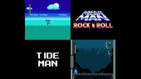 Mega Man- Rock N Roll - Tide Man's Theme