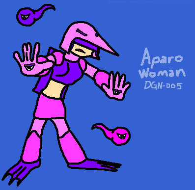 Aparo Woman