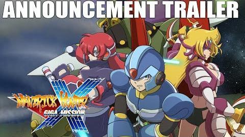 Maverick Hunter X Giga Mission PV01 - Mega Man X 25th Anniversary Fan Project