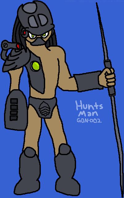 Hunts Man