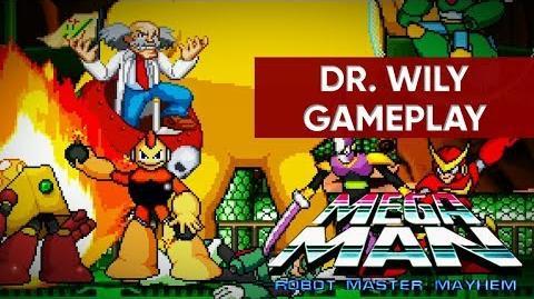 Mega Man Robot Master Mayhem (PC) - Dr. Wily Gameplay
