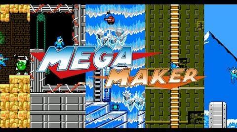 Mega Maker - Create your own Mega Man levels! - Official trailer