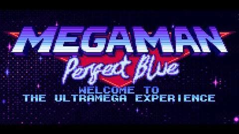 MEGA MAN PERFECT BLUE - Reveal Trailer
