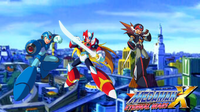 Megaman X Eternal Wars(X, Zero, Axl) Wallpaper