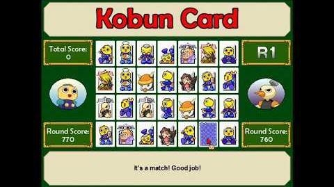 MegaMan Legends - Kobun Card