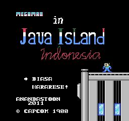 Mega Man in Java Island Indonesia