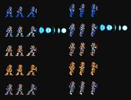 All Armor s Hadouken for Mega Man X Snes Style