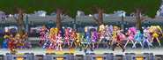 Tokyo(Eurasia) Main Street(Rockman VS Precure All Stars(Max Heart ~ Heart Catch)) By geno2925