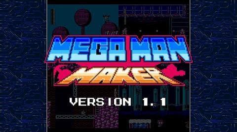 Mega Man Maker Version 1.1 is released!