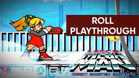 Mega Man Robot Master Mayhem (PC) - Roll Gameplay