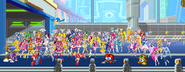 Rockman Vs PreCure Squad Of Battle