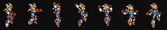 Mega Man X Second Armor Vertical Dash for Mega Man X Snes Style