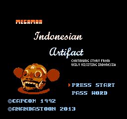 Mega Man:Indonesian Artifact
