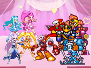 Rockman vs heart catch precure style by baryltdf-d45albw