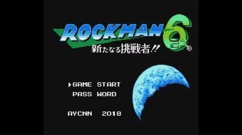 Rockman 6 EX Aratanaru Chousensha!! (NES FC) - Longplay