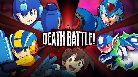Mega Man Battle Royale DEATH BATTLE!