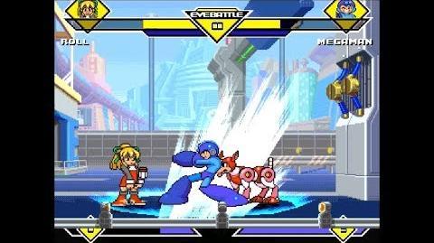 MDR MUGEN 137 Roll vs Megaman