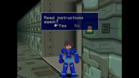 Mega Man Legends Cheat Code Testing (PSX)