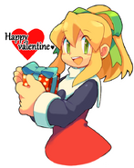 Roll(Rockman 8)'s Valentine's Day By geno2925