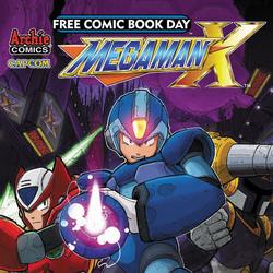 Mega Man (Free Comic Book Day 2014)