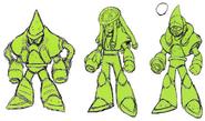 Mega Man 11 Acid Man Concept Art 2