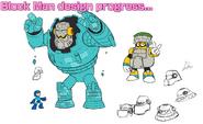 Mega Man 11 Block Man Concept Art 6