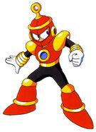 Mega Man 4 Ring Man Concept Artwork 1