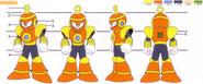 Mega Man 4 Ring Man Concept Artwork 2