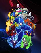 Mega Man 11 Cover Art