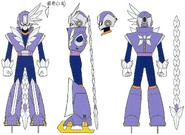Mega Man 11 Tundra Man Concept Art 1