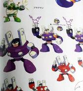 Mega Man 9 Plug Man Concept Artwork
