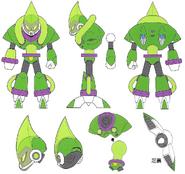 Mega Man 11 Acid Man Concept Art 1
