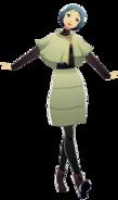 P3D Fuuka Yamagishi Winter Outfit