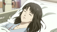 P5A Shiho after waking up from her coma