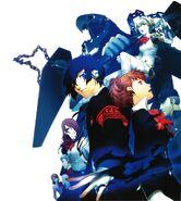 Persona 3 Portable artwork