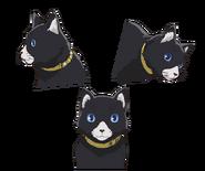 P5A Morgana's cat form Concept Art 2