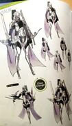 TMS concept art of Virion as a Sniper class