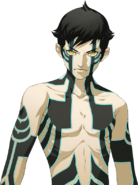 Artwork of Demi-God for Shin Megami Tensei IV Final DLC