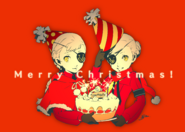 P5 Christmas 2016 Illustration of Caroline and Justine
