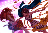 P4D story mode Kanami saved by her manager