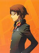 P4A Yosuke Hanamura Volume 2 Illustration cover