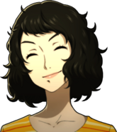 P5 portrait of Kawakami smiling