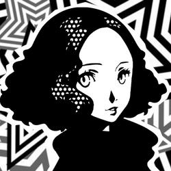 Persona 5 Confidant Guides Icon (Empress) - Haru Okumura.png