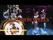 Persona 2 - Innocent Sin - All Fusion Spells (PS1)