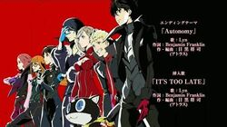 "Persona_5_The_Animation_Ending_2_""Autonomy"""