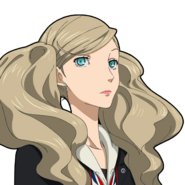P5 animated expression of Anne Takamaki 02