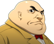 P5 Portrait of Principal angry