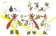 Concept sprite of Jiraya