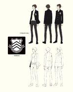 Shujin Male Winter Uniform